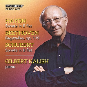 Kalish Beethoven Haydn Schubert Bridge Records