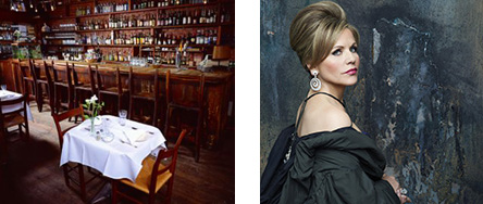 C&O Restaurant and Renee Fleming