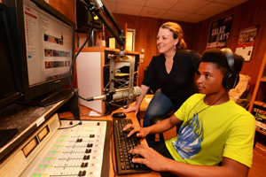 Middle school radio camp 2015