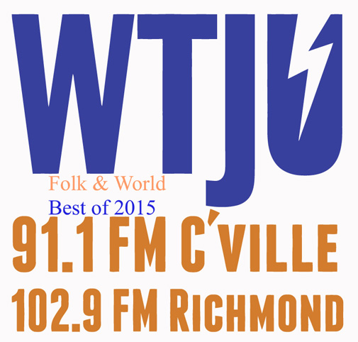 WTJU Folk & World Best of 2015-web