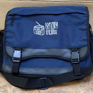 WTJU messenger bag / record bag