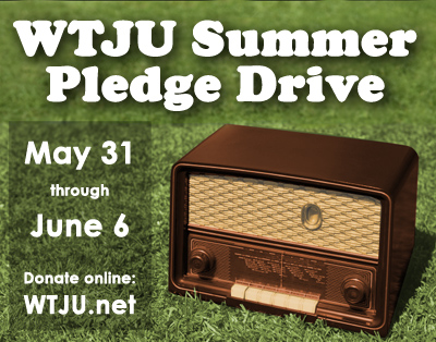 Summer 2016 pledge drive poster - 400px